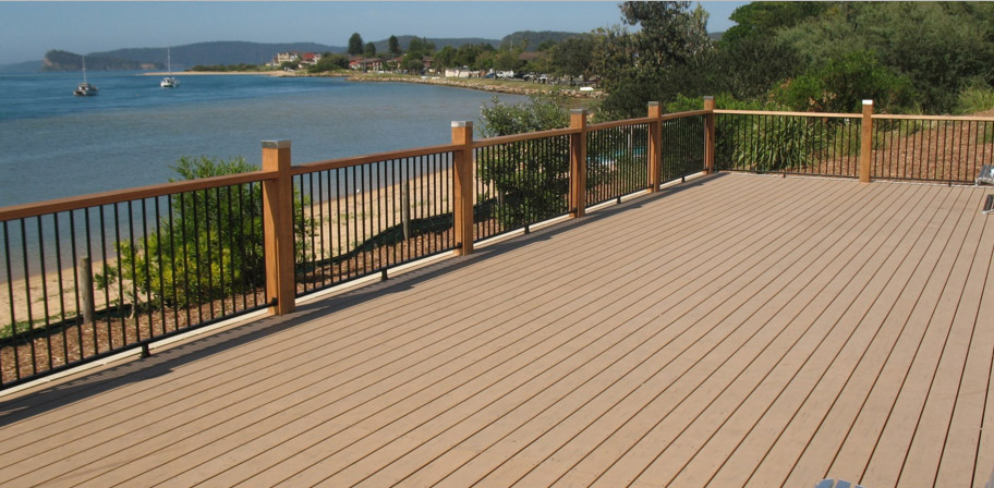 Modwood deck