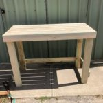 Outdoor furniture or work benches